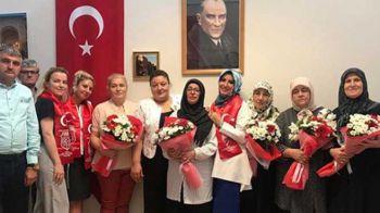 Şehit ve Gazi Aileleri Derneği Bursa İl Başkanlığı'na Ziyaret